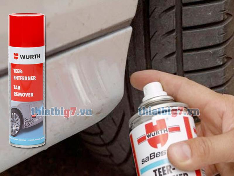 Tẩy sạch các vết nhựa đường mà không gây hại bề mặt sơn