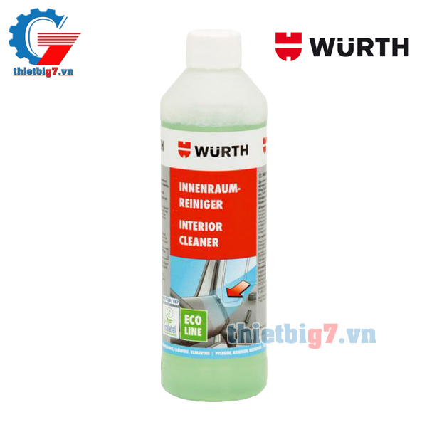 Dung dịch vệ sinh nội thất WURTH ECO 500ml