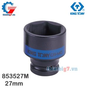 Khẩu Tuýp 1″ Kingtony 853527M – 27mm