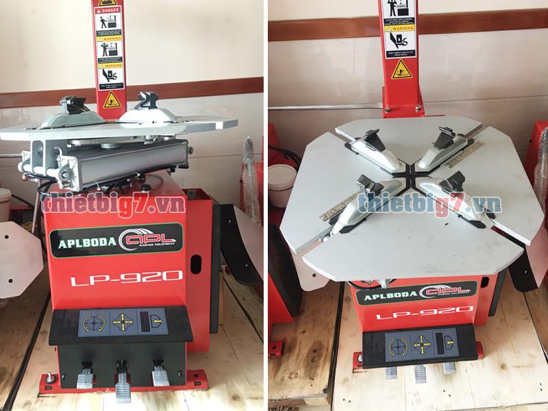 Máy tháo vỏ xe du lịch LP-920 Mam-vuong-va-mat-truoc-logo-may-ra-vo-lp920
