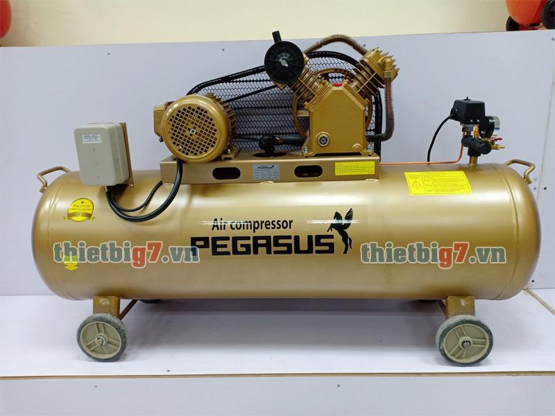 Hình ảnh thực tế máy nén khí Pegasus 3hp-180l-12,5bar