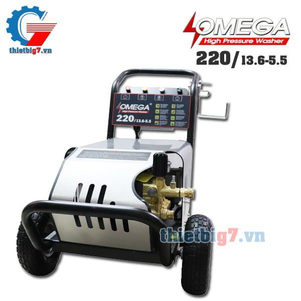 may-rua-xe-omega-220bar-55kw