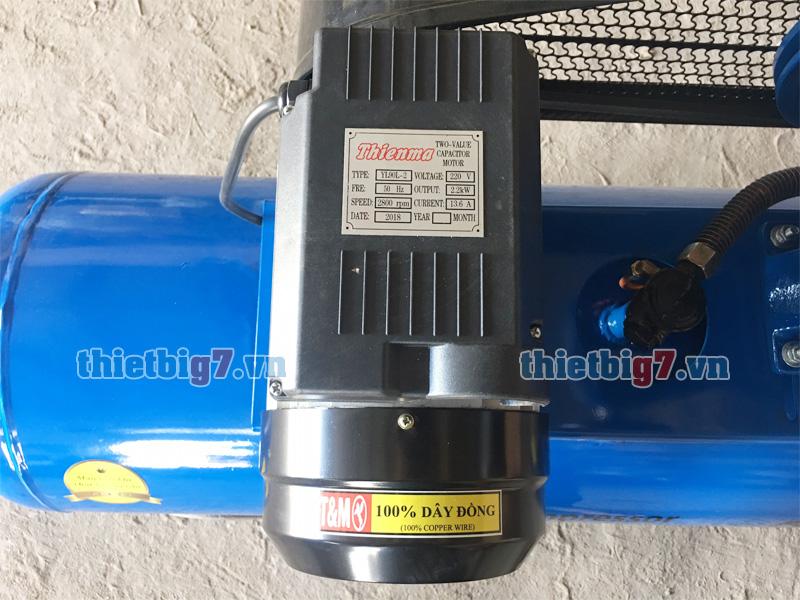 Mô tơ dây đồng máy nén khí pegasus 3hp-120l-12.5bar