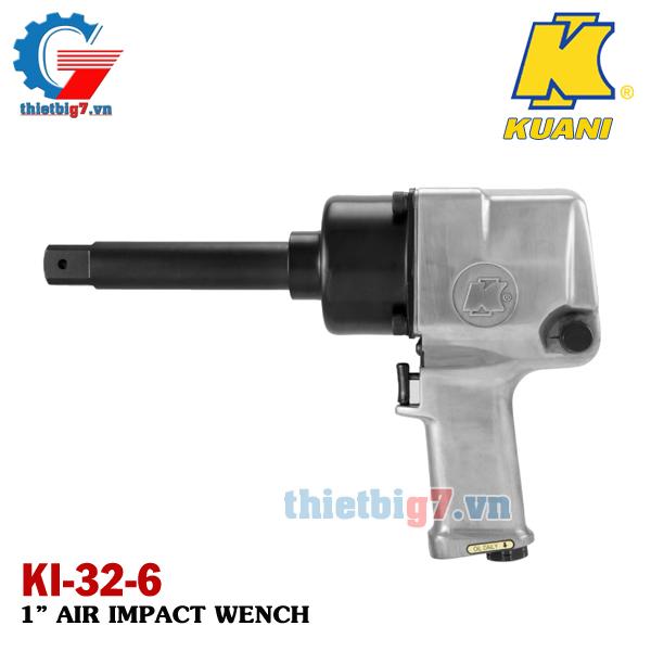 Súng vặn ốc dùng khí nén 1 inch Kuani KI-32-6