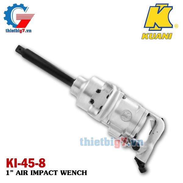 Súng vặn ốc bằng khí nén 1 inch Kuani KI-45-8