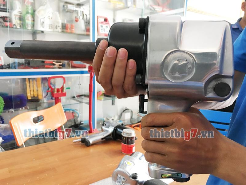 Hình ảnh thực tế súng vặn ốc dùng khí nén 1 inch Kuani KI-32-6