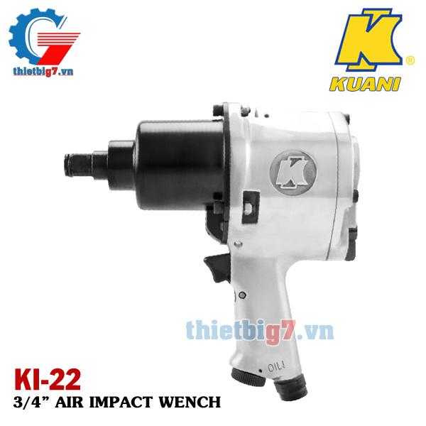 Súng xiết bu lông 3/4 inch Kuani KI-22