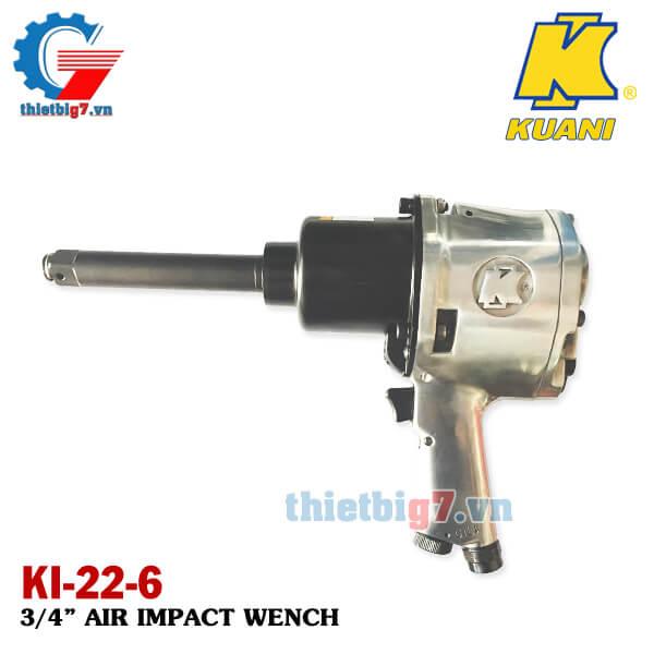 Súng xiết bu lông 3/4 inch Kuani KI-22-6