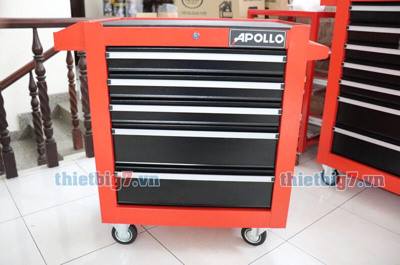 Tủ đựng đồ nghề 5 ngăn kéo khóa apollo AP-5N