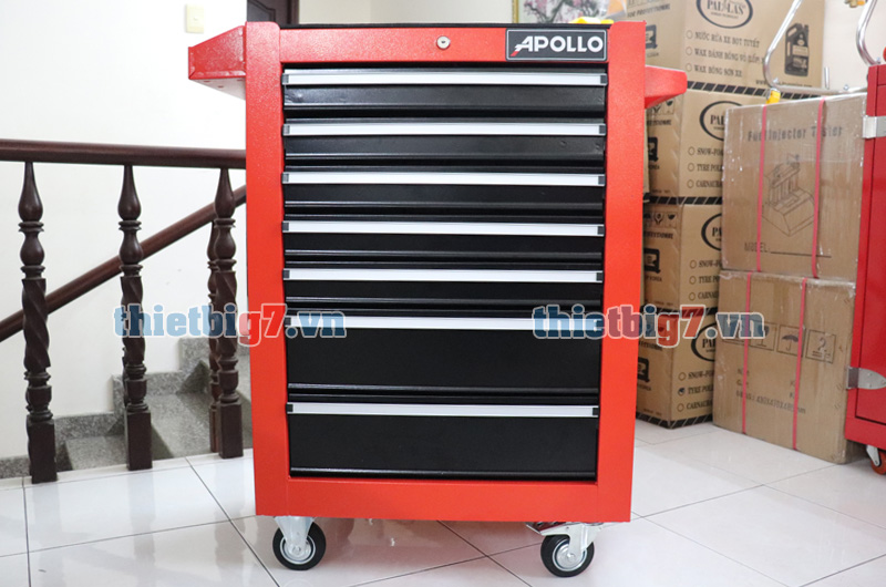 Tủ đựng đồ nghề 7 ngăn kéo khóa Apollo