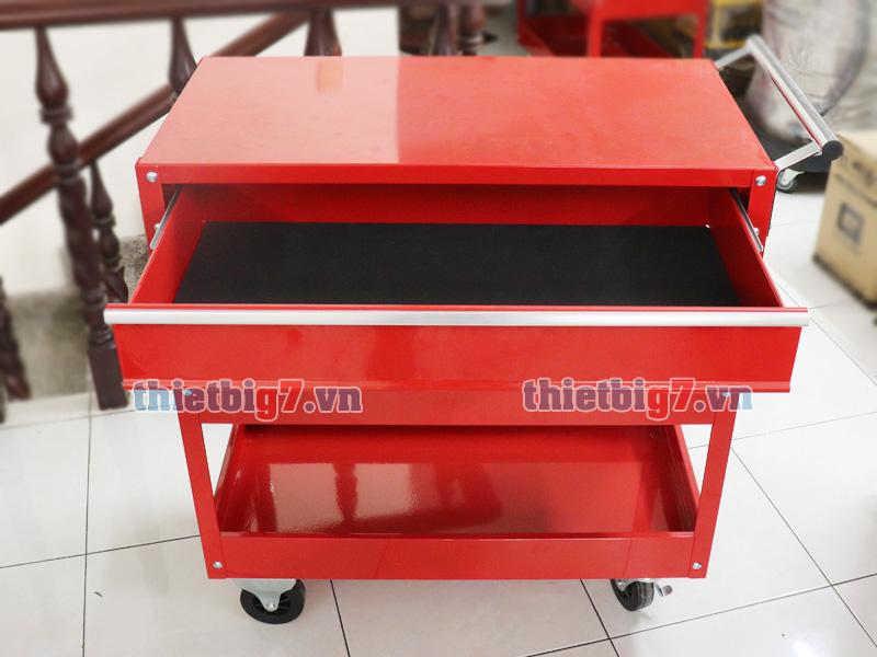 Xe đựng đồ nghề 3 ngăn có 1 ngăn kéo
