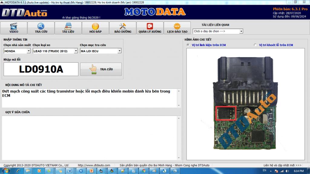 MOTODATA LD0910A