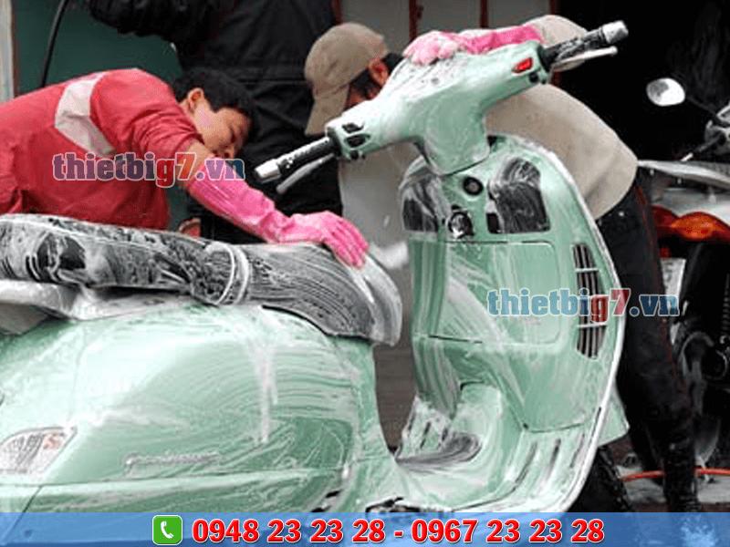lưu ý sử dụng thiết bị chăm sóc ô tô xe máy