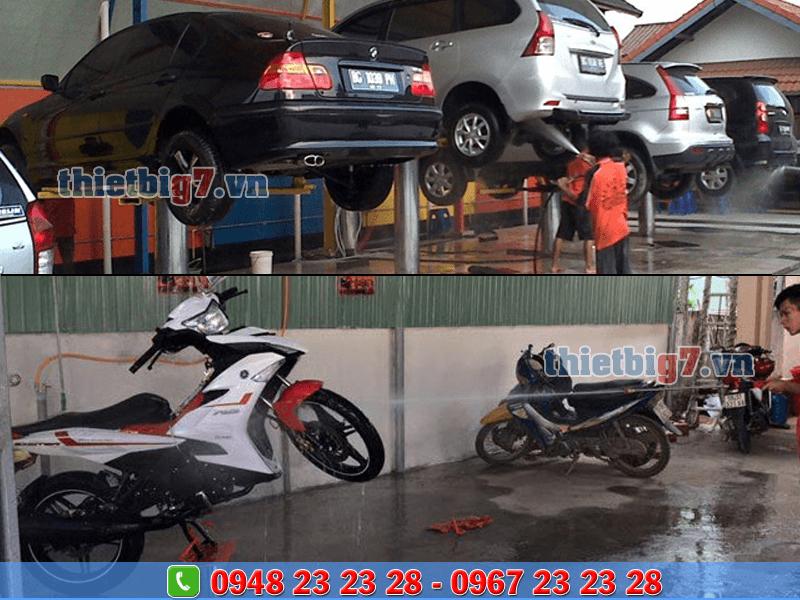 thiết bị chăm sóc ô tô xe máy