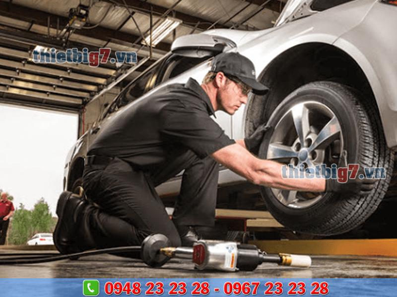 thiết bị sửa chữa lốp xe