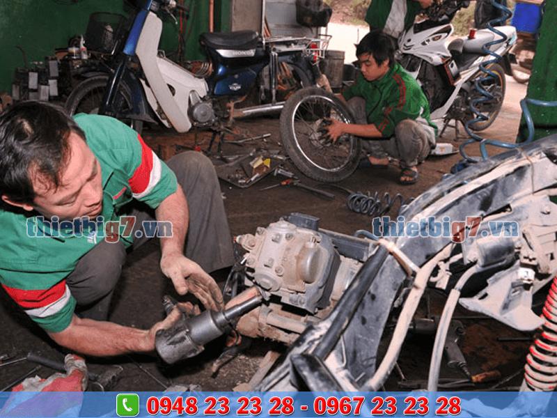 thiết bị sửa chữa xe máy