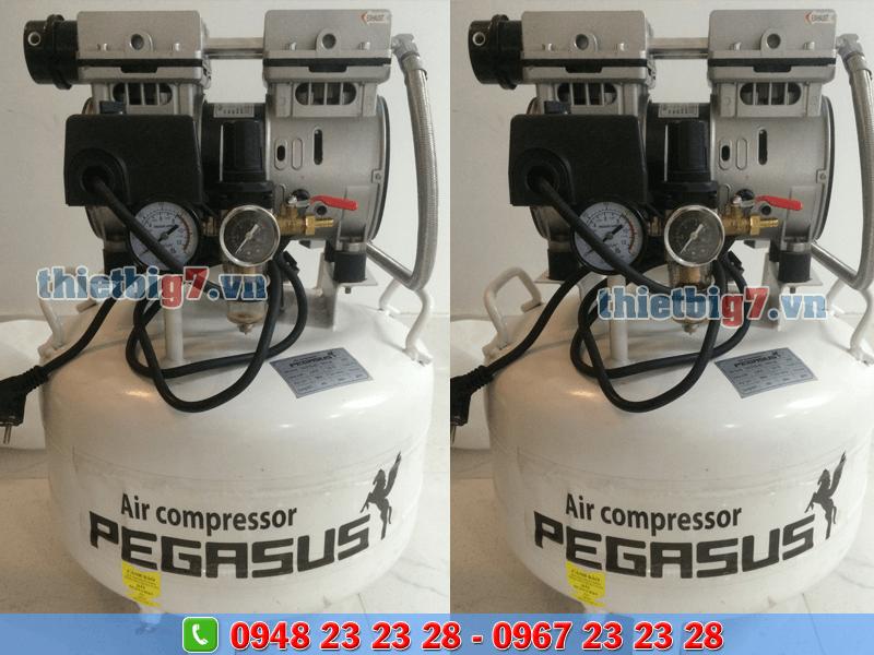 máy nén khí không dầu giảm âm 1