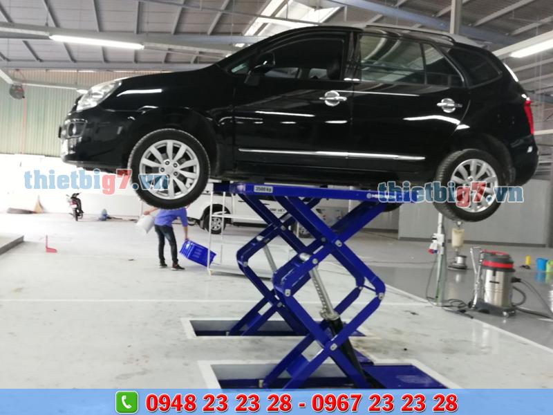 thiết bị sửa chữa gara ô tô
