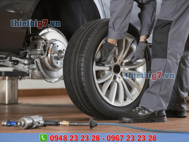 thiết bị sửa chữa lốp xe ô tô