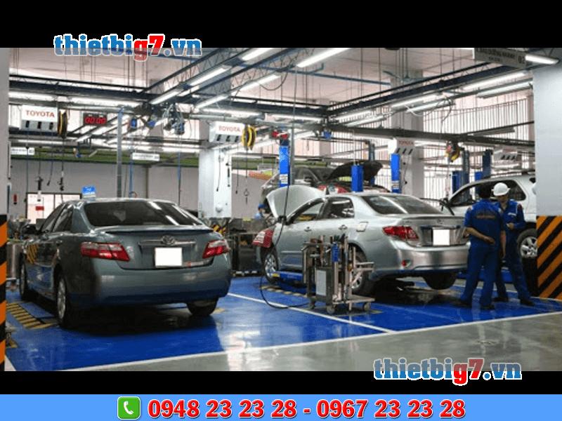 thiết bị sửa chữa phần gầm xe ô tô