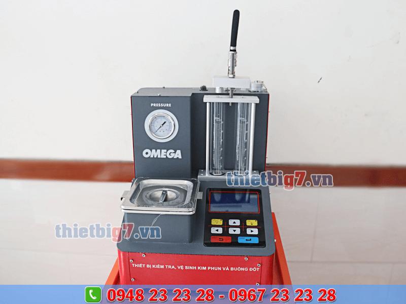 máy súc rửa kim phun omega