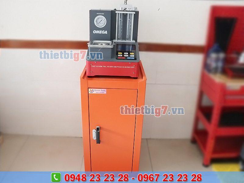 máy vệ sinh kim phun omega